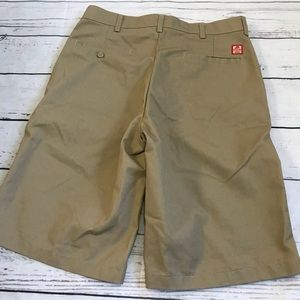 8bcca136bc9 vans Shorts - Vans Red Kap Khaki Shorts W34